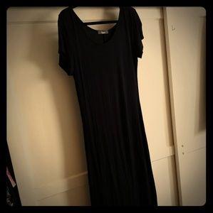 Little Black (completely plain) Dress